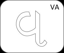 Gujarati Letter Va