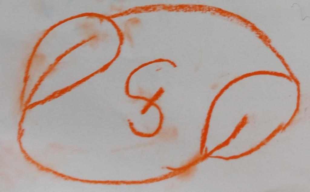 Hand drawn Gujarati Learner logo by Swara